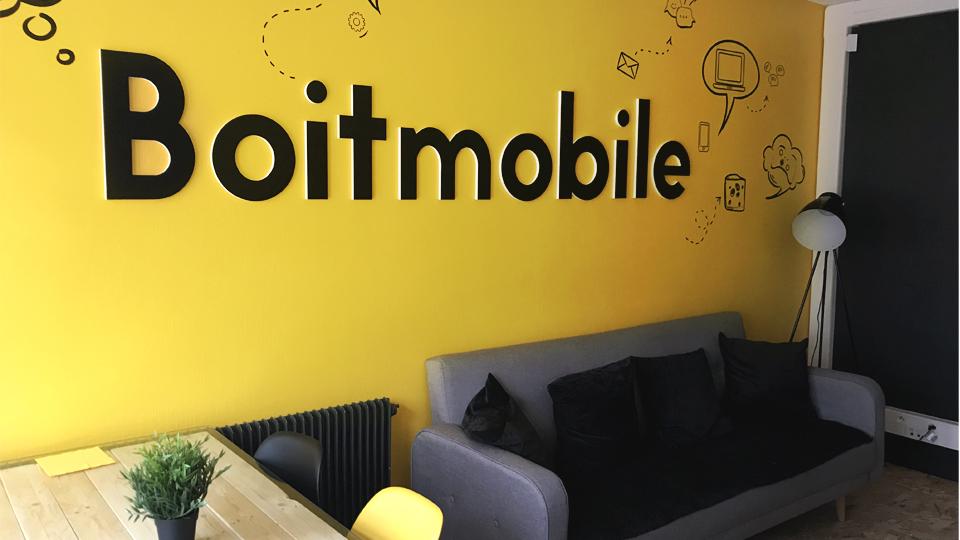 Les locaux Boitmobile à Amiens - Boitmobile, créateur de web à Amiens