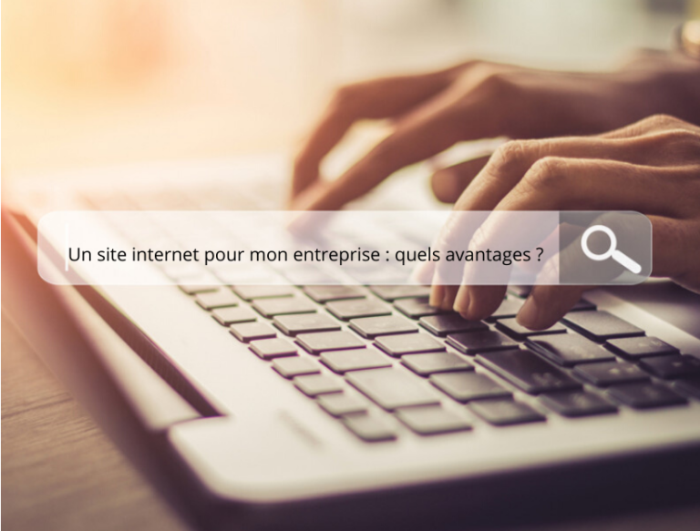 ordinateur barre de recherche site internet entreprise