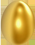 Oeuf d'or, Pâques - Boitmobile, créateur de web à Amiens
